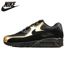 buy popular 36293 72236 NIKE AIR MAX 90 Uomini ESSENZIALI di Runningg Scarpe, Scarpe Da Tennis  All aperto Scarpe, Oro Nero, antiscivolo Resistente All u.