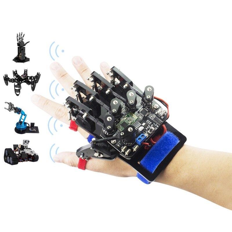 2018 Open Source Glove/wearable Mechanical Glove/somatosensory Controller Of Exoskeleton