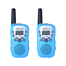1 Pair Two-Way Walkie Talkie Toys For Children 0.5W Two Way Kids Radio Boys and Girls Brithday Xmas Christmas Gift for kids