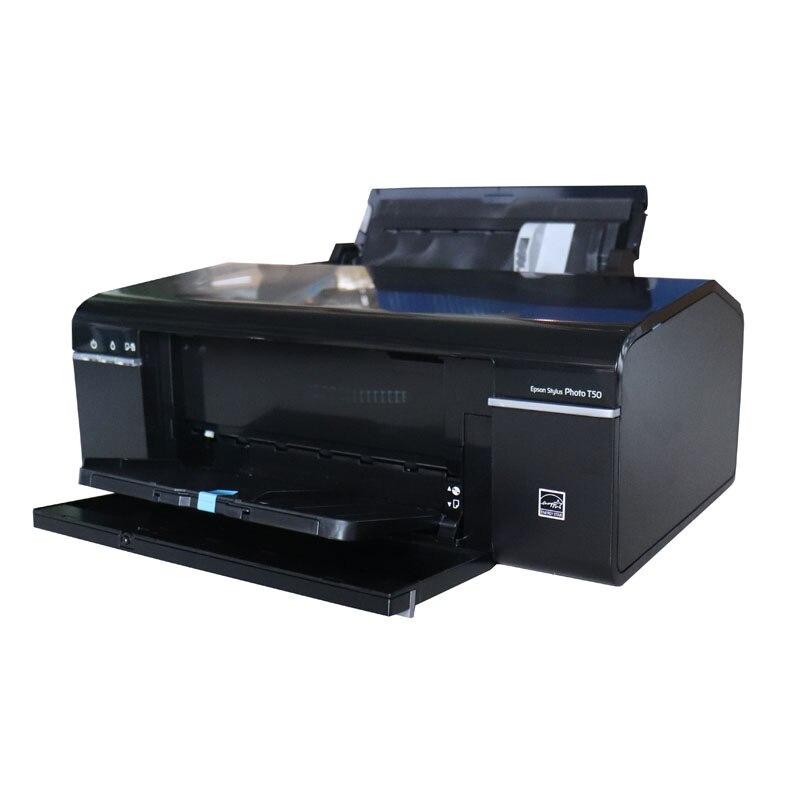 Impressora a Jato de Tinta Impressora de cd de Transferência Térmica de Seis Impressora Cores a4 T50