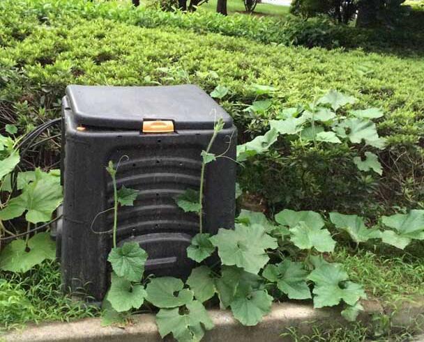 Mest Voor Tuin : 440l keuken afval recycle gisting organische mest en bodem regenworm