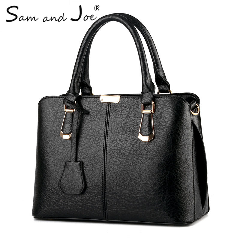 2019 New Fashion PU Leather Women Handbag Ladies Lether Shoulder Bag Casual Large Capacity Tote