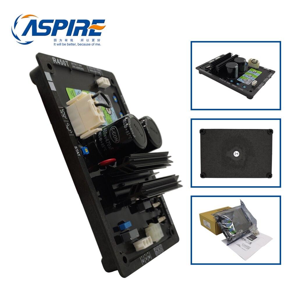 Régulateur de tension automatique R450T de carte AVR de générateur sans brosse à ca de 3 phases R450-T