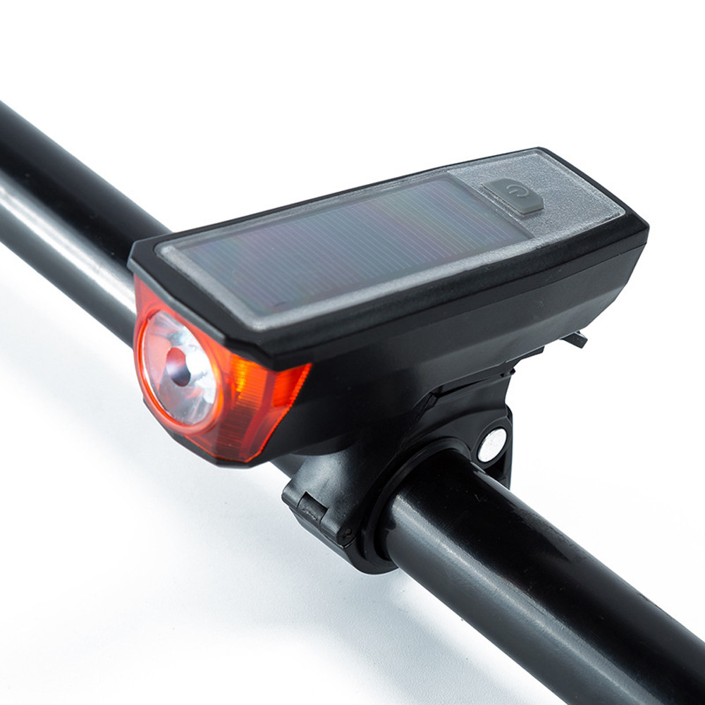 MUQGEW Solar Energy Rechargeable Speaker Cycling Bicycle Light Riding Oversized Vocal H Bike Bicycle Accessories E1213