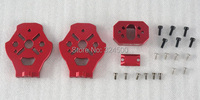FreeFlight X8 Motor Mount Plate Kit Color Red