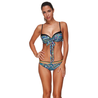 Ls1345 tie die tank top designer bikini grote size badmode dubbele push up indoor badpak kan strand bikini seafolly balconette