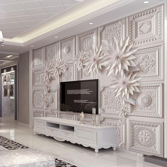Personnalise 3d Murs De Papier Peint Pour Salon Hotel Murale Stereo
