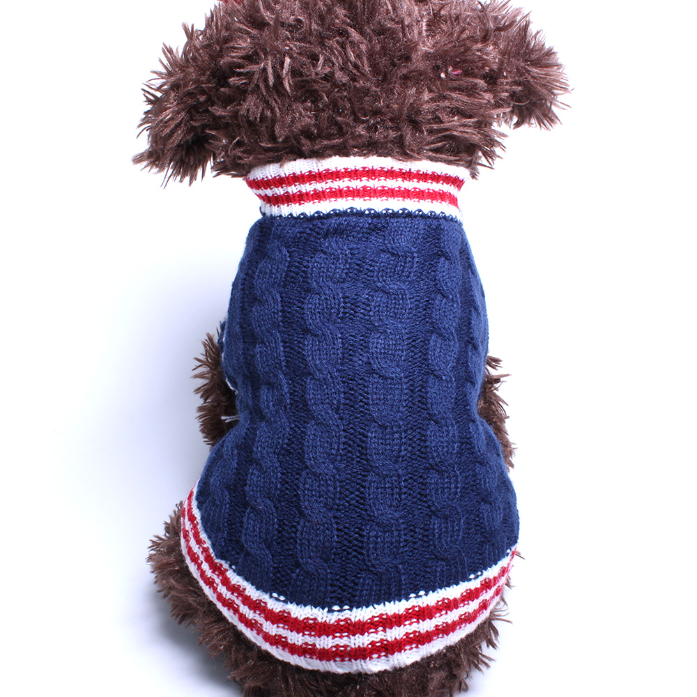 Σκύλος σκύλος πουλόβερ Preppy στυλ Jumper Pet - Προϊόντα κατοικίδιων ζώων - Φωτογραφία 3