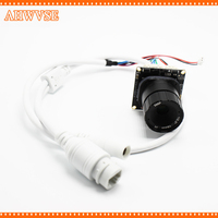 AHWVSE H.265 Hi3516E 1080P IP Camera module Board CS LENS 16mm lens XMEYE ONVIF H264 Mobile Serveillance IRCUT DIY Camera 5MP