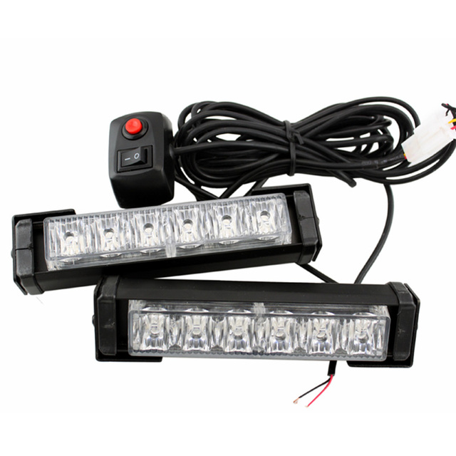 High quality 12led car emergency beacon light bar 10 flashing mode high quality 12led car emergency beacon light bar 10 flashing mode 12v led strobe caution light aloadofball Image collections