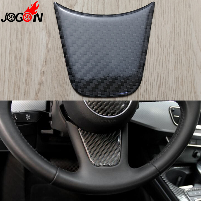 For Audi A4 B9 8w 2017 Interior Console Steering Wheel Decoration