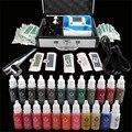Solong Tattoo Kit de Cejas Maquillaje Permanente Tatuaje Cosmético Supply La Máquina Potencia de Punta de Agujas con Tinta de Pigmento EK110-1