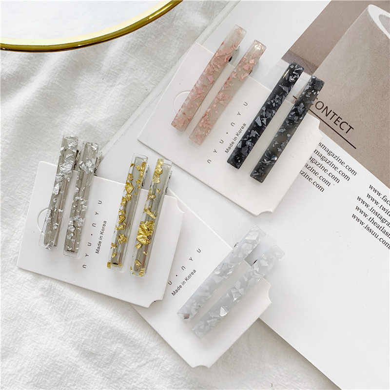 Fashion Resin Acetate Hair Clip Women Girls Headwear Barrettes Hairpins Accessories Hair Clip Beauty