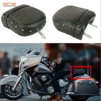 Black Motorcycle Rear Passenger Seat Cover Case For Indian Roadmaster 2014 2017 Chieftan 2015 2017 Springfield