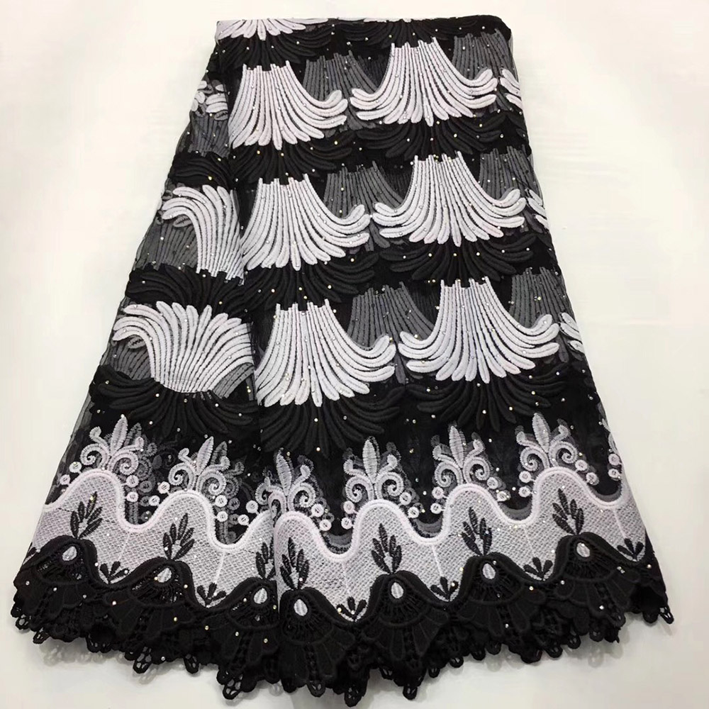 2019 Hot Selling French Lace Fabric High Quality Tulle Lace Fabric Embroidery Nigerian Lace Fabrics For Women Dress2019 Hot Selling French Lace Fabric High Quality Tulle Lace Fabric Embroidery Nigerian Lace Fabrics For Women Dress