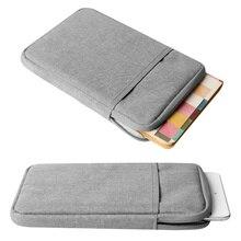 A prueba de golpes Tablet Sleeve Bolsa del bolso del Caso Para el Nuevo ipad Pro 10.5 9.7 Cubierta de aire 2 Caso 2017 Unisex de la Manga Liner Para funda iPad aire