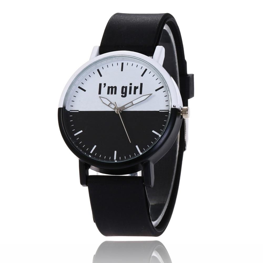 New Women Luxury Leather Geneva Neutral Watches man Watch Cheap Lady Girls Wristwatches Gift Hours Geneva relojes mujer clock