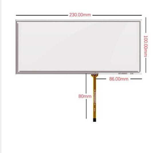 все цены на 230*100 Original car screen upgrade  multimedia 8.8 Inch Touch Screen upgrade touch screen ST-08801 онлайн