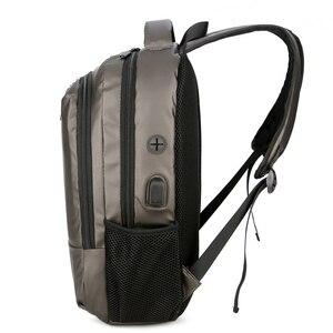 Image 5 - Shellnail Waterproof Laptop Bag Backpack 15.6 17.3 inch Notebook Bag 15 17 inch Computer Bag USB for Macbook Air Pro Dell HP Bag