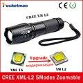 E17 Cree XML-L2 5 Режимов 4000 Люмен lanterna водонепроницаемый фонарь zaklampen СВЕТОДИОДНЫЙ Фонарик Масштабируемые Фонарь Бесплатная Доставка