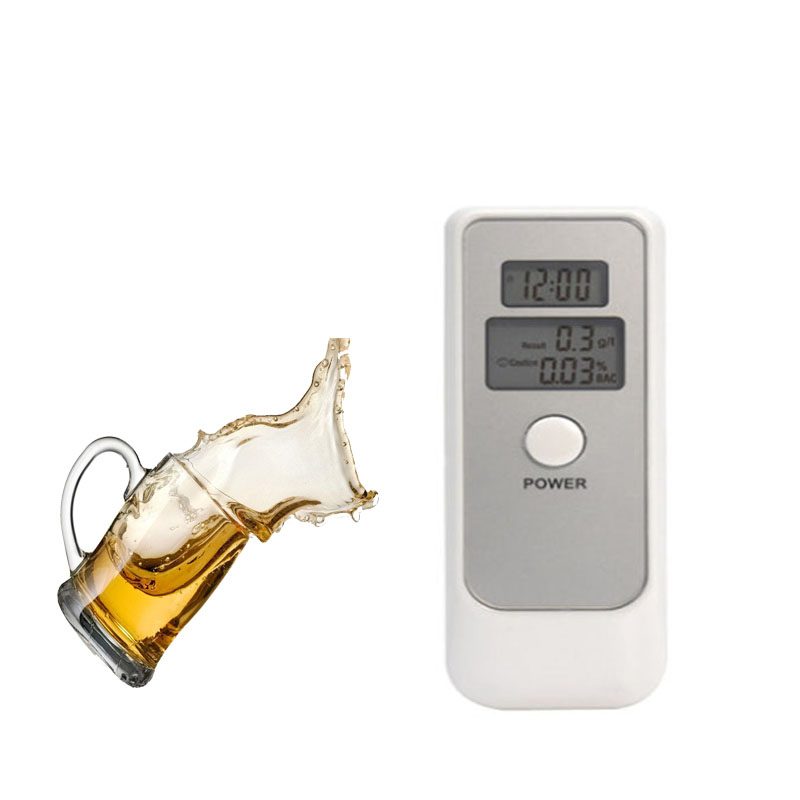 Digital Alcohol Tester AD06 Breathalyzer Professional Alcohol Content Detector For Driver