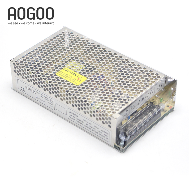 200W 24V 8.4A LED Light Devices Switching Power Supply AC-DC PSU 100/110/220/230V S-200-24 mini size 50w 36v 1 4a switch mode led light devices switching power supply ac dc psu 100 110 220 230v ms 50 36