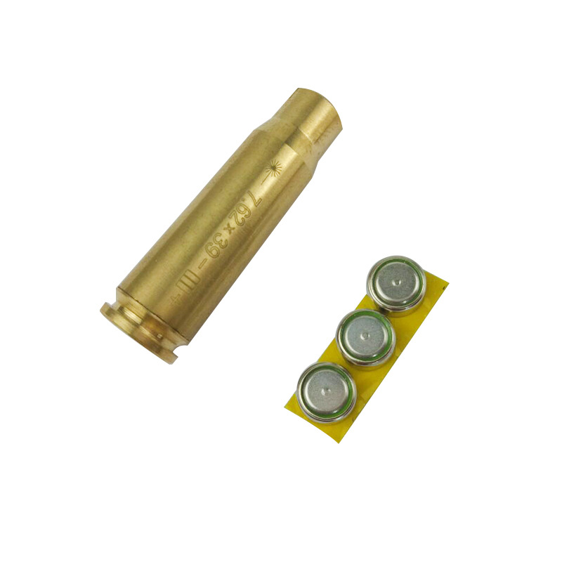 High Quality New 7.62 X39 Copper Infrared Aiming Instrument Zero School Calibration Send Electronic Infrared Laser Pen Pointer