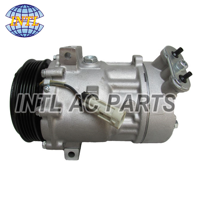 SD7V16 For Saab 9 3 93 L4 2.0L AC Compressor 5PK 12759394