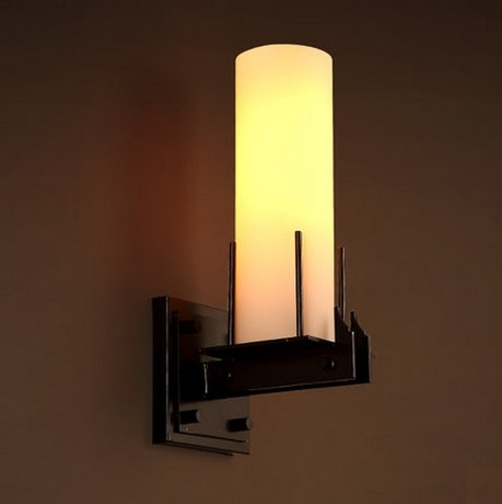 Loft style industrial candle led wall sconce glass vintage wall loft style industrial candle led wall sconce glass vintage wall lamp for home antique wall lights mozeypictures Images