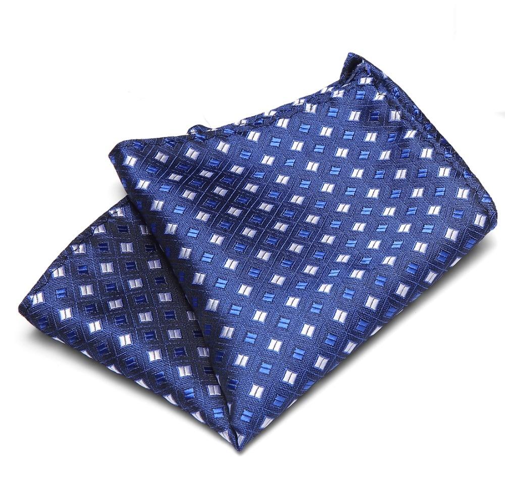 Handkerchiefs Floral Dots Stripes Checks Pocket Squares For Suits New Men 100% Silk Jackets Wedding Party Business