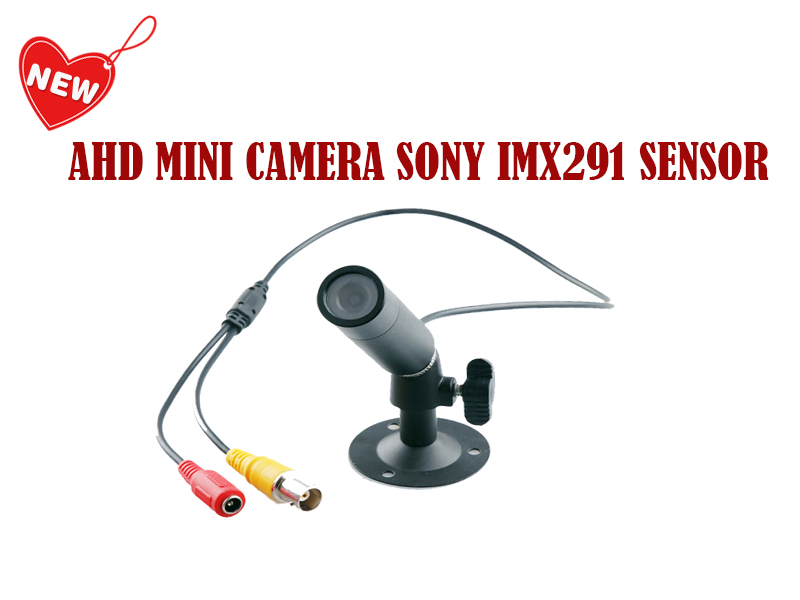 NEW MINI AHD SONY Sensor IMX291 2MP/1080P Mini Starlight camera for Home Security Surveillance video cctv camera Free Shipping mini bullet cvbs ccd camera 700tvl with headset mount for mobile surveillance security video 5v