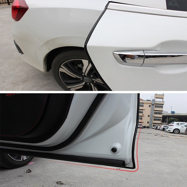 Universal Car 5m Door Edge Guard Scratch Strip Protector Rubber Sealing Trim Molding Car Styling For Audi BMW VW Ford SUV