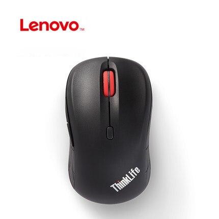 все цены на LENOVO Thinklife WLM200 2.4GHz Wireless Mouse 1500DPI USB Receiver Mute Mice