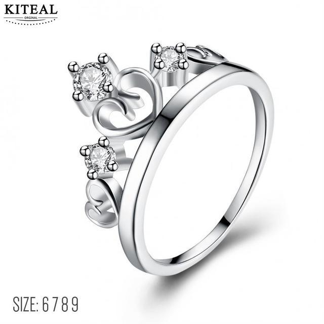 Kiteal Princess Crown Rings For Women