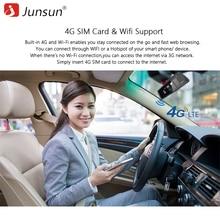 Junsun K759 4G Special Mirror Car DVR Camera 10″ Full Touch Android Special Mirror GPS FHD 1080P ADAS Dual lens Dash Cam