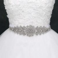 Women's Fashion New Arrival Wedding Sash Belt Crystal Rhinestone Bridal Sash Wedding Belt(38CMX7CM)