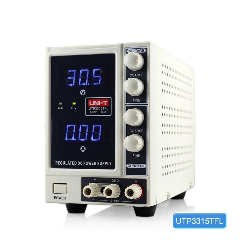 DHL livraison gratuite 30 V 5A réglable DC alimentation précision Variable double Test de laboratoire numérique pour la réparation de téléphone