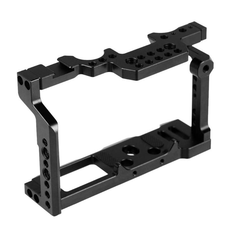 Aluminum Alloy Camera Video Cage Top Film Making System For Fujifilm XT2 Only Camera Cage For Photography Studio