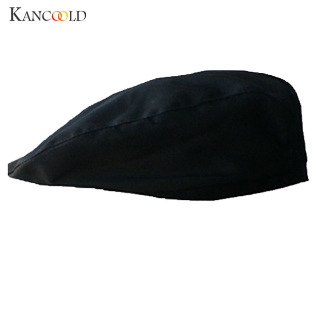 9e8de6bff4d Cap winter hat warmer beret Casual berets homme hiver cotton casquettes caps  for men solid male visor black bonnet black DC29A