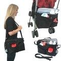 2015 New Baby stroller dual heat packs ice pack cooler bag shoulder bag nappy bag