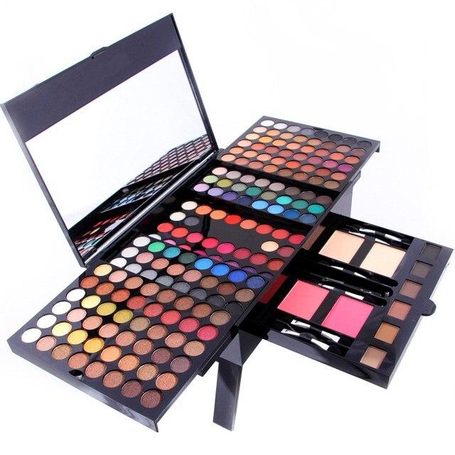Makeup Set 180 Colors Eyeshadow Powder Blusher Podwers Eyebrow Palette Kit Long Lasting Matte Pearl Shimmer Comestic Maquiagem