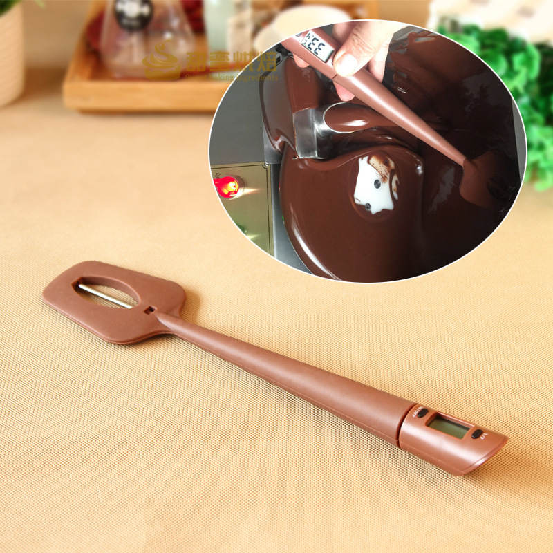Chocolate Thermometer Scraper Baking Pastry Spatulas