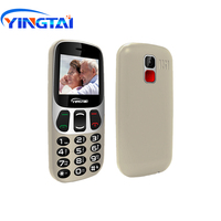 "cell phone screen YINGTAI Big Screen/push button Virtual Keyboard bar Cell phones better than Nokia senior mobie phone 1000mAh 2.4"" for elderly FM (4)"