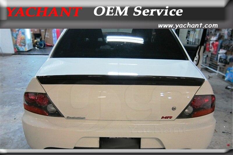 Nouvelle aile de becquet arrière en Fiber de verre FRP pour 2001-2007 Evolution 7-9 EVO 7 8 9 Type-1 becquet de coffre arrière