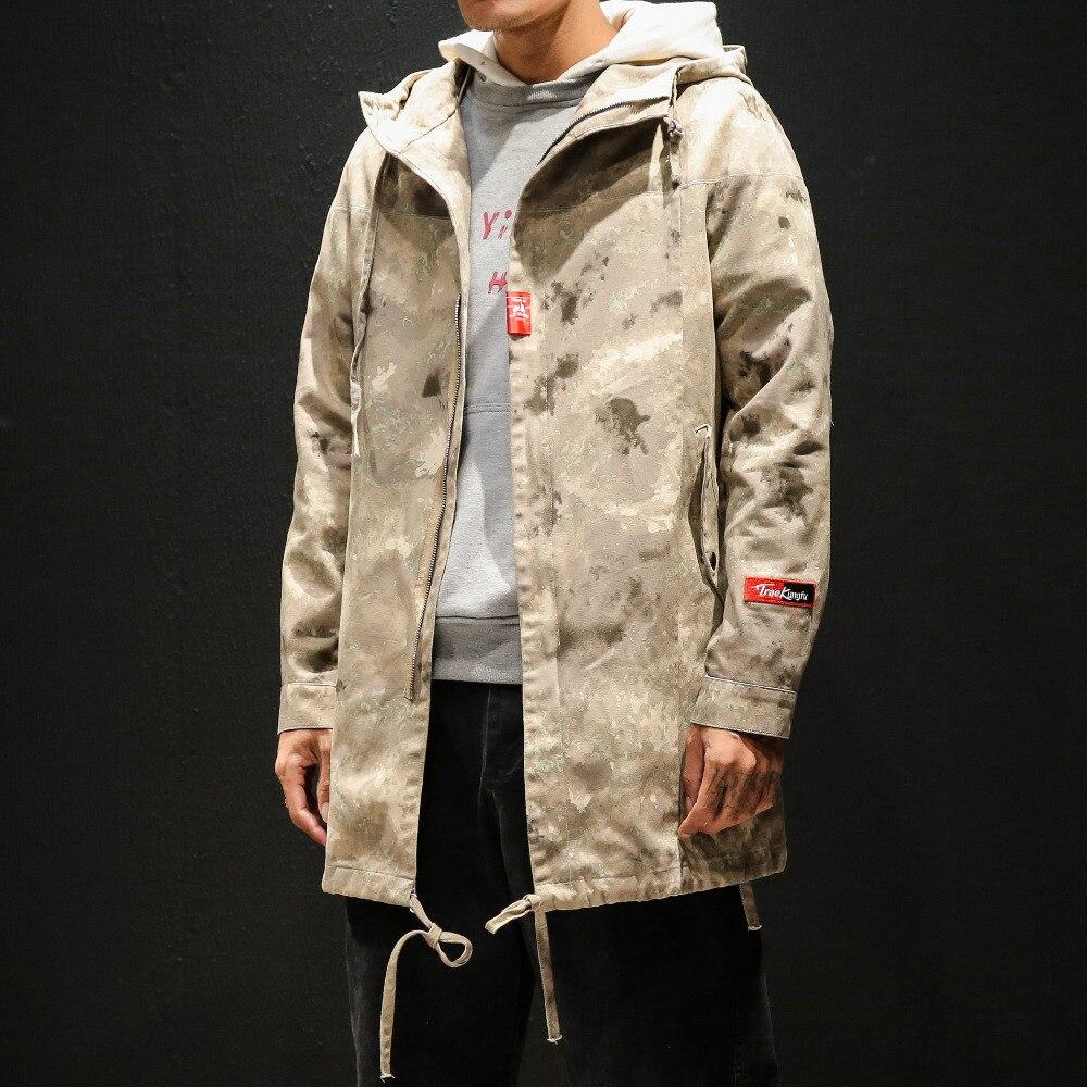 5XL M ชายเสื้อฤดูใบไม้ร่วงแฟชั่น Plus ขนาด Hooded แจ็คเก็ตผู้ชายลำลอง Windbreaker เสื้อผ้าผู้ชาย 2019-ใน แจ็กเก็ต จาก เสื้อผ้าผู้ชาย บน   1
