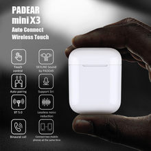 Padear New mini X3 Bluetooth Headset Earbuds Wireless Earphone for Iphone Android 6/7/8/PLUS X xs RS Max Sumsung(China)