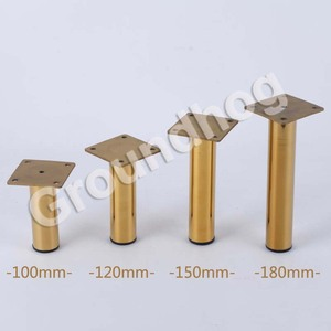 Image 3 - 6Pcs 4Pcs Stainless Steel Furniture Legs Gold Silver Load 900KG For Sofa TV Cabinet Wardrobe Replace Feet Height 10/12/15/18CM