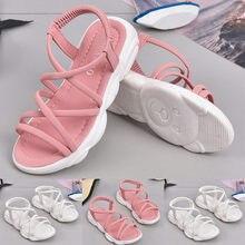 1fd7bdc13 (سفينة من US) MUQGEW الصيف الطفل الفتيات الصنادل طفل الرضيع الاطفال أحذية  عارضة الكرتون الدب واحد حذاء الأميرة الصنادل ل فتاة الوردي الأبيض