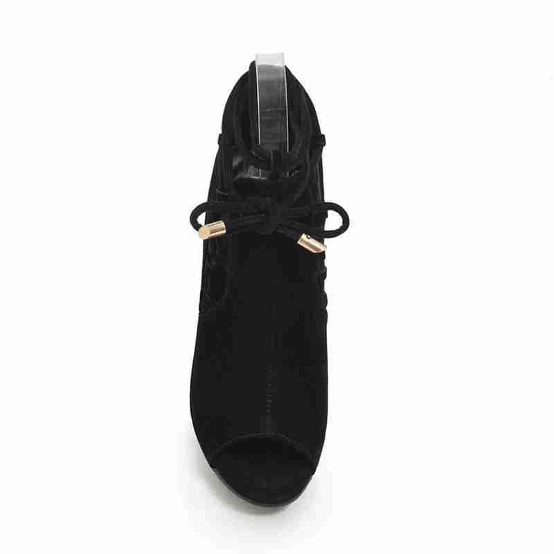 3560f7f8bd6cb5 D'été 2019 Noir Famso Black Femmes Sandales Pour Nouveauté Peep Sexy Taille  34 Femme Toe Bureau Gladiateur Chaussures ...