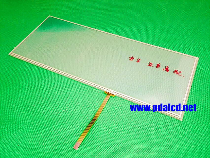 10.2 inch 4 wire Resistive Touch Screen 257mm*105mm Touch panel 257*105mm CAR GPS Navigation digitizer Panels glass